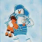 Куклы и игрушки handmade. Livemaster - original item Snowman Thomas. Handmade.