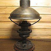 Лампа настольная в стиле дизельпанк