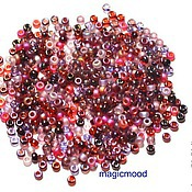 Материалы для творчества handmade. Livemaster - original item 10g Miyuki 11/0 MIX 18 vineyard Japanese seed beads Miyuki round mix. Handmade.