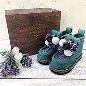 Сувениры и подарки handmade. Livemaster - original item Boots women`s author