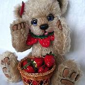 Куклы и игрушки ручной работы. Ярмарка Мастеров - ручная работа Выкройка мишки-Лакомка. Handmade.