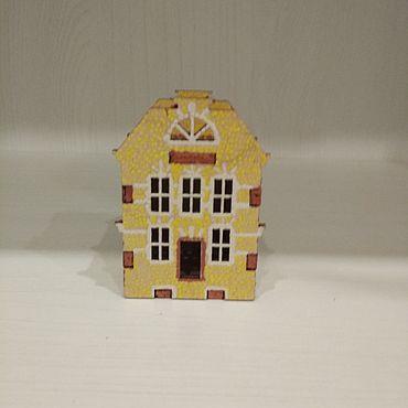 Для дома и интерьера ручной работы. Ярмарка Мастеров - ручная работа Интерьерный домик Амстердам. Handmade.