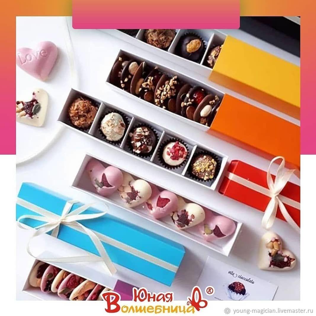 Коробка-пенал для конфет, медиантов, приглашений, Упаковка, Мытищи,  Фото №1