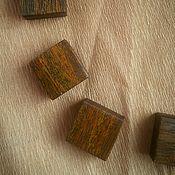 Для дома и интерьера ручной работы. Ярмарка Мастеров - ручная работа Комплект магнитов из древесины дении. Handmade.