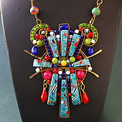 Украшения handmade. Livemaster - original item Pendant-necklace Suprematism. Handmade.
