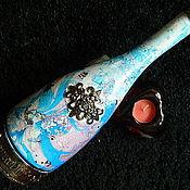 Посуда ручной работы. Ярмарка Мастеров - ручная работа ВЫСОКОГОРЬЕ  большая бутылка (пустая). Handmade.