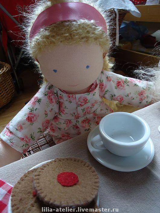 Вальдорфская игрушка ручной работы. Ярмарка Мастеров - ручная работа. Купить Текстильные куколки-сестрёнки. Handmade. Вальдорфская кукла