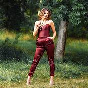 Одежда handmade. Livemaster - original item Pantsuit