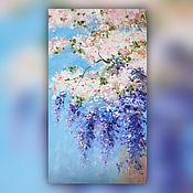 Картины и панно handmade. Livemaster - original item Pictures: Spring, oil, 40h70 cm. Handmade.