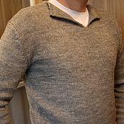 """Одежда ручной работы. Ярмарка Мастеров - ручная работа Мужской свитер """"Меланж"""". Handmade."""