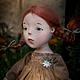 Коллекционные куклы ручной работы. Ярмарка Мастеров - ручная работа. Купить Рыжие косички. Handmade. Коричневый, любить и жаловать
