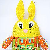 Куклы и игрушки ручной работы. Ярмарка Мастеров - ручная работа Развивающая игрушка заяц. Handmade.