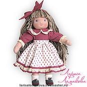 Куклы и игрушки ручной работы. Ярмарка Мастеров - ручная работа Анютка - моя первая куколка. Handmade.
