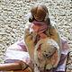 Куклы Тильды ручной работы. Анечка и Зая. Уютная мастерская Волковой Светланы. Ярмарка Мастеров. Зайка, подарок на любой случай