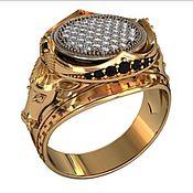 Ring handmade. Livemaster - original item Ring Horse silver gilt. Handmade.
