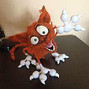 """Мягкие игрушки ручной работы. Ярмарка Мастеров - ручная работа Кот """"Аристарх"""" (рыжий красавчик). Handmade."""