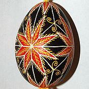 Сувениры и подарки ручной работы. Ярмарка Мастеров - ручная работа Писанка на гусином яйце. Handmade.