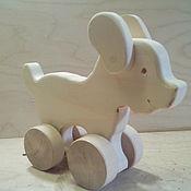Игрушки-каталки ручной работы. Ярмарка Мастеров - ручная работа Собачка каталка. Handmade.