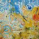 """""""Песня пустыни"""" 120х120 огромная картина в стиле лофт. Картины. Art Geo. Интернет-магазин Ярмарка Мастеров.  Фото №2"""