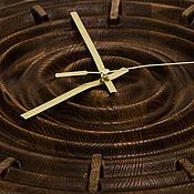 """Для дома и интерьера ручной работы. Ярмарка Мастеров - ручная работа Часы """"Круги на воде"""" 28х 28 см. Handmade."""