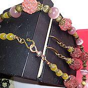 Украшения handmade. Livemaster - original item Necklace and Earrings Set