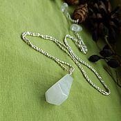 Фен-шуй и эзотерика handmade. Livemaster - original item pendulum with rock crystal. Handmade.