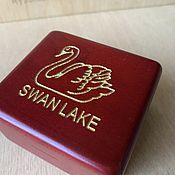 handmade. Livemaster - original item Music box Swan lake Tchaikovsky Swan Lake. Handmade.