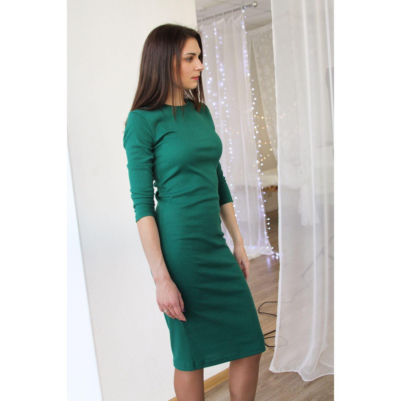 Повседневное платье на работу фото