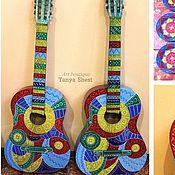 Музыкальные инструменты handmade. Livemaster - original item The painted guitar in any style. Handmade.