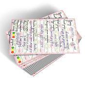 Материалы для творчества ручной работы. Ярмарка Мастеров - ручная работа Карточки учета заказов Мастера. Handmade.