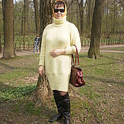 Одежда handmade. Livemaster - original item Knitted sweater dress.. Handmade.