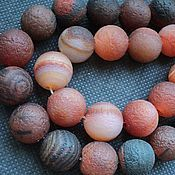 Материалы для творчества handmade. Livemaster - original item Natural large agate beads,18mm. Handmade.