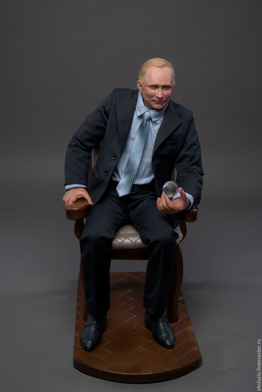 Персональные подарки ручной работы. Ярмарка Мастеров - ручная работа. Купить Портретная кукла Владимира Путина в единственном экземпляре. Handmade.