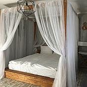 Кровати ручной работы. Ярмарка Мастеров - ручная работа Кровать двуспальная, с балдахином SWEET DREAMS. Handmade.