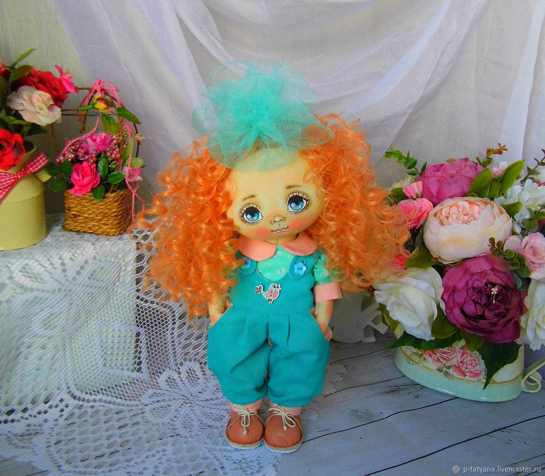 Хулиганить сегодня не будем! Ленка. Текстильная кукла, Куклы и пупсы, Буй,  Фото №1