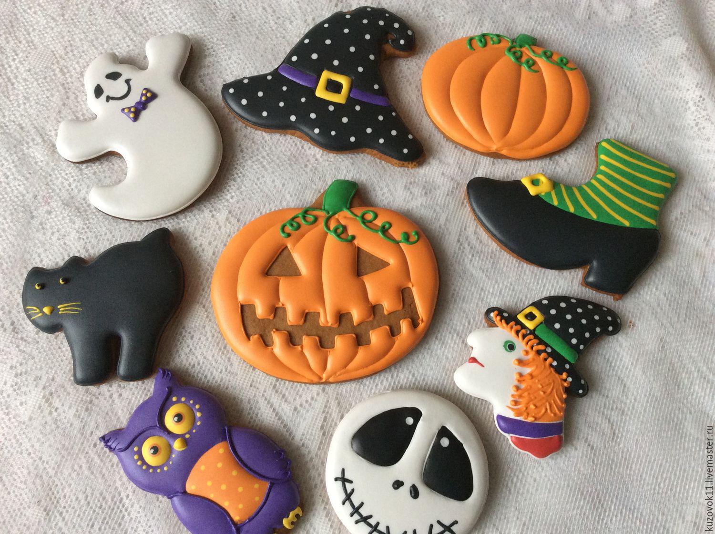 Пряники на хэллоуин своими руками 54