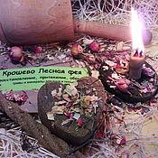 """Русский стиль ручной работы. Ярмарка Мастеров - ручная работа Набор  """" Лесная фея"""" - бохо образ- свеча, крошево и мыло.. Handmade."""