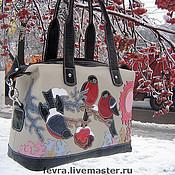 Сумки и аксессуары handmade. Livemaster - original item Bag Snegiri. Handmade.