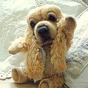Куклы и игрушки ручной работы. Ярмарка Мастеров - ручная работа Кокер спаниель американский. Собачка тедди. Мишки тедди. Handmade.