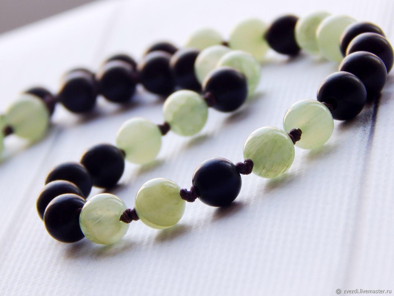 Bayong rosary and green onyx, Rosary, Minusinsk,  Фото №1