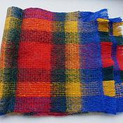 Винтаж ручной работы. Ярмарка Мастеров - ручная работа шарф мохеровый мужской или женский. Handmade.