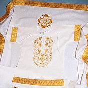 Работы для детей, handmade. Livemaster - original item Set for baptism,