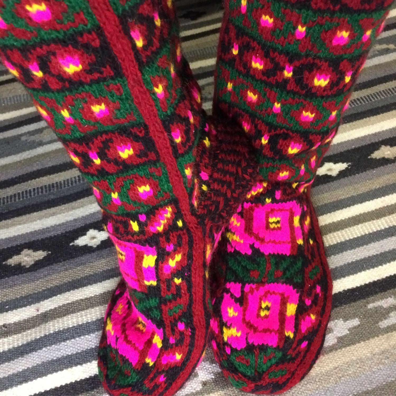 Носки шерстяные вязаные вручную (джурабы), Носки, Москва,  Фото №1
