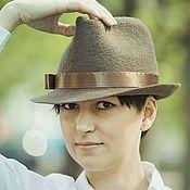 "Аксессуары handmade. Livemaster - original item Валяная шляпа ""Классная!"". Handmade."