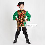 Одежда детская handmade. Livemaster - original item Russian folk costume for a boy
