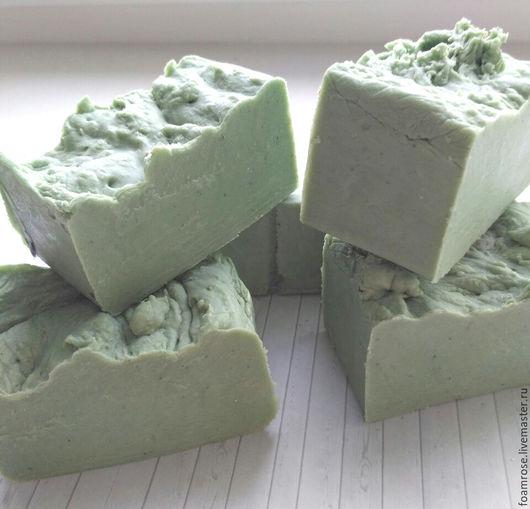 """Мыло ручной работы. Ярмарка Мастеров - ручная работа. Купить мыло с нуля """" Сосновый бор"""". Handmade. Зеленый"""