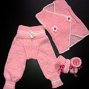 Комплекты одежды ручной работы. Ярмарка Мастеров - ручная работа Комплект для новорождённых.Бесплатная доставка.. Handmade.
