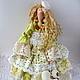 Куклы Тильды ручной работы. Ярмарка Мастеров - ручная работа. Купить Тильда в стиле бохо, Интерьерная кукла.Весенний ангел!!!. Handmade.