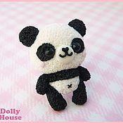 """Украшения ручной работы. Ярмарка Мастеров - ручная работа Кольцо """"Kawaii Panda"""". Handmade."""
