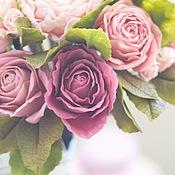 Цветы и флористика ручной работы. Ярмарка Мастеров - ручная работа Букет невесты в винтажном стиле.. Handmade.